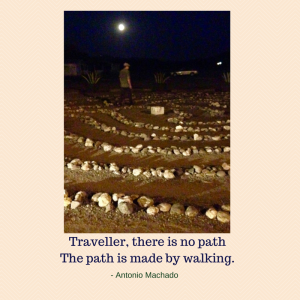 Traveller, there is no pathThe path is made by walking.